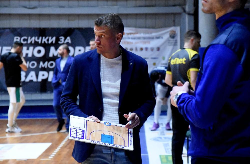 Александър Дяковски: Мога да поздравя момчетата за начина, по който играха в защита
