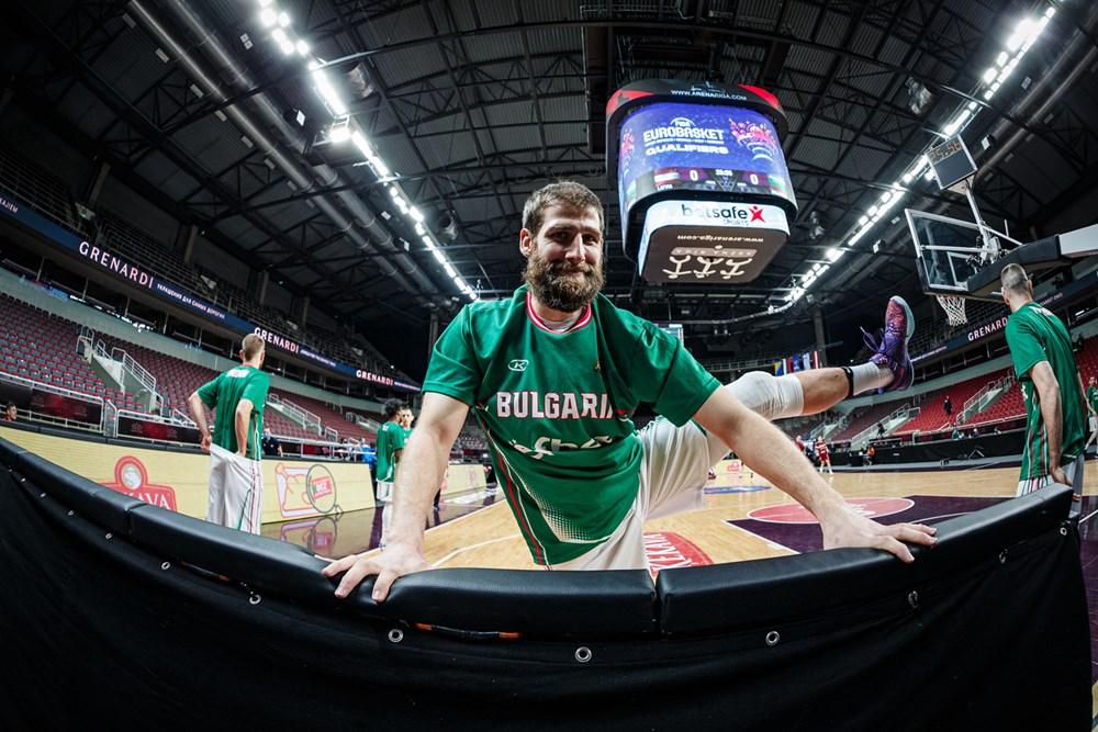 Чавдар Костов: Готов съм да бъда капитан на България по време на Евробаскет 2022